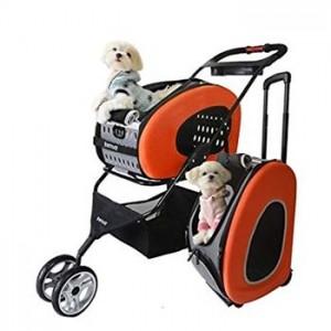 Carrozzina Lisa - Passeggino 5 in 1 per il trasporto del tuo cane o gatto